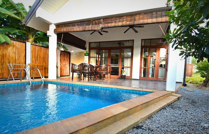 Malee Beach Pool Villa C4