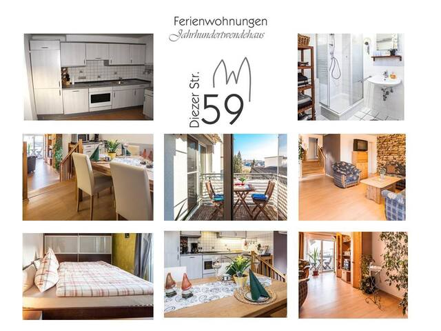 2room vacation apartment in Limburg - Limburgo - Departamento