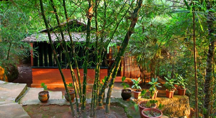 Eco friendly Cottages Near  Waterfall