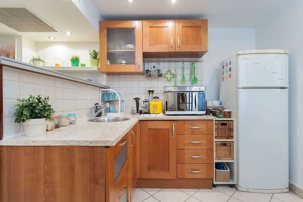 the kitchen and everything you need to make your self what you love.