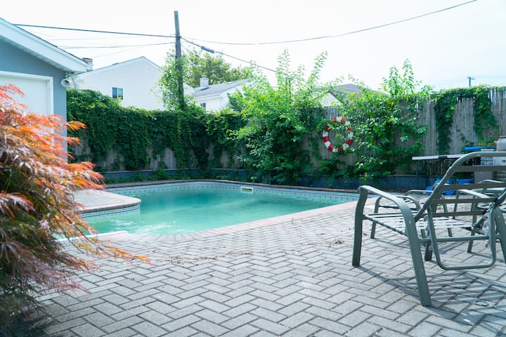 Polished 1BR w/ Private Saltwater Pool & Jacuzzi