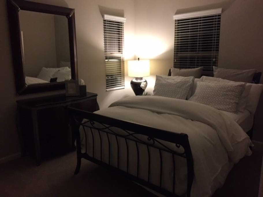 Guest Room in the evening