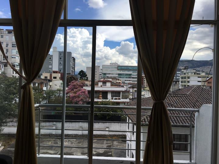 Loft en Quito con ubicación ideal para turismo