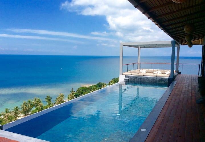 St Barth Villa, breathtaking 180° sea view