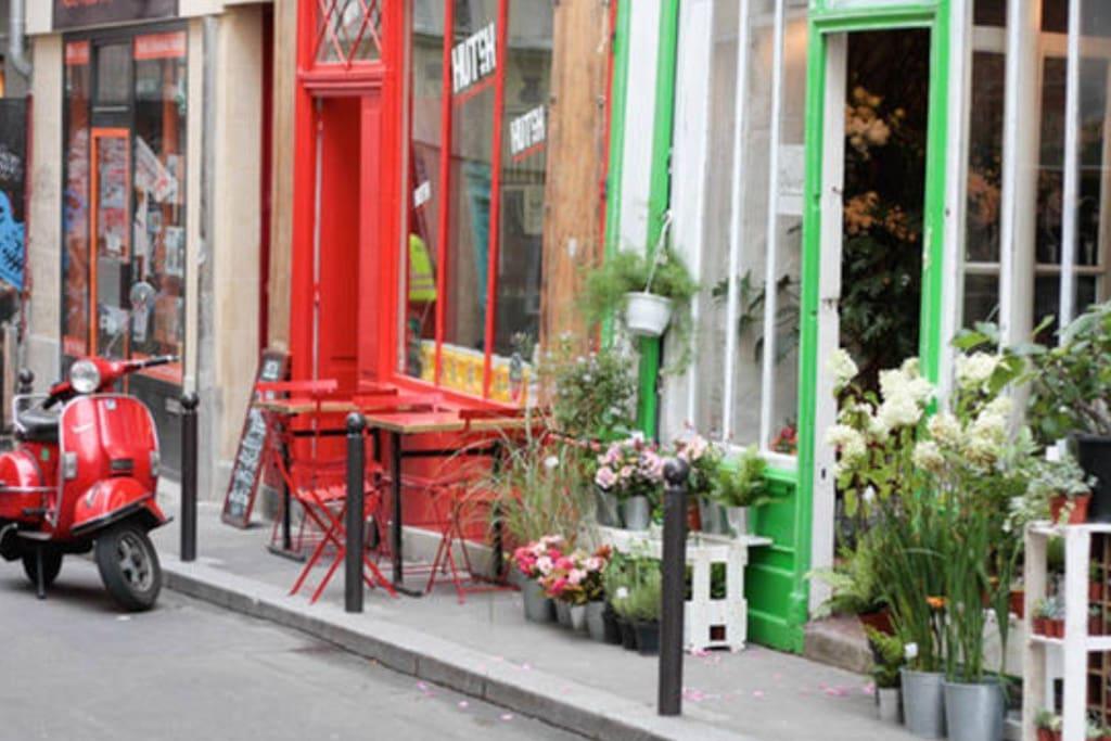 Rue sainte Marthe 100m