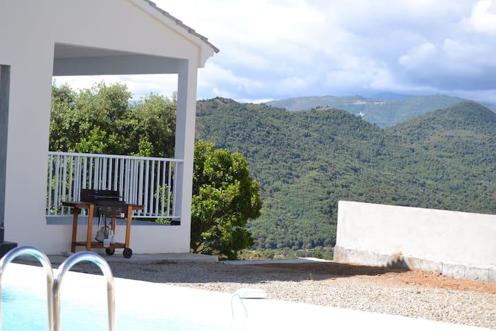 grande villa neuve 8p/140m2 piscine - Canavaggia - Ház