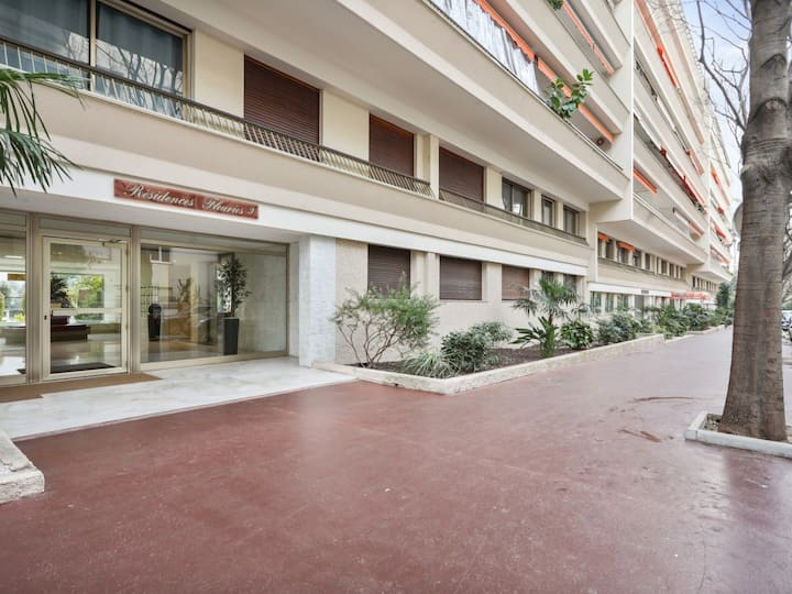 Beautiful studio with AC 3 min away from the Croisette in Cannes - Welkeys