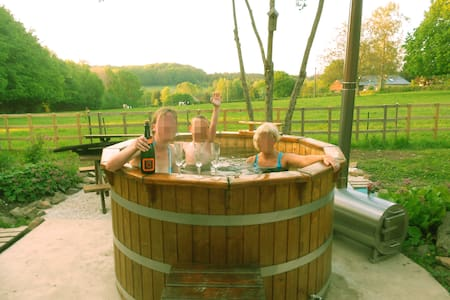 Countryside cottage with hottub - Brognon - Talo