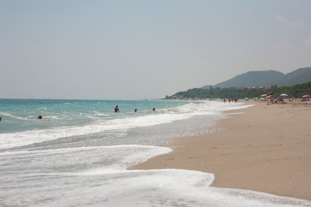Beach in L'Hospitalet del Infants, 25 km away