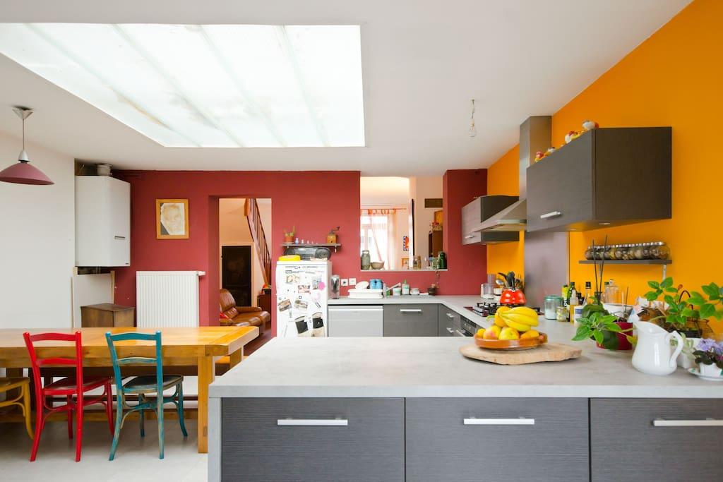 grande 1930 avec jardin lille fives maisons louer lille nord pas de calais france. Black Bedroom Furniture Sets. Home Design Ideas