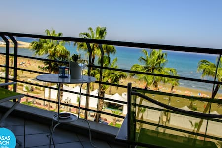 Krasas Beach - 1 bedroom apt with Sea View