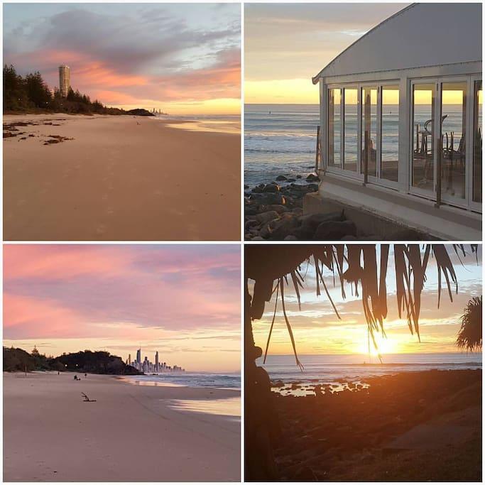 Beautiful Burleigh Beach Sunrise