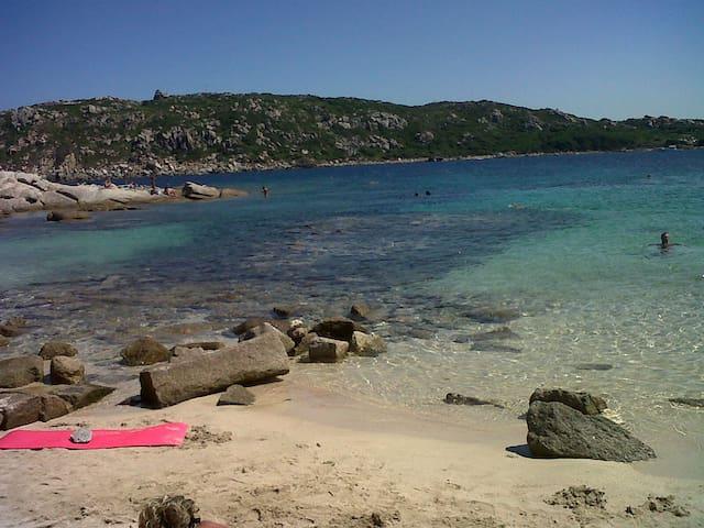 Spiaggia Zia Colomba (Colonne Romane) verso Capo Testa