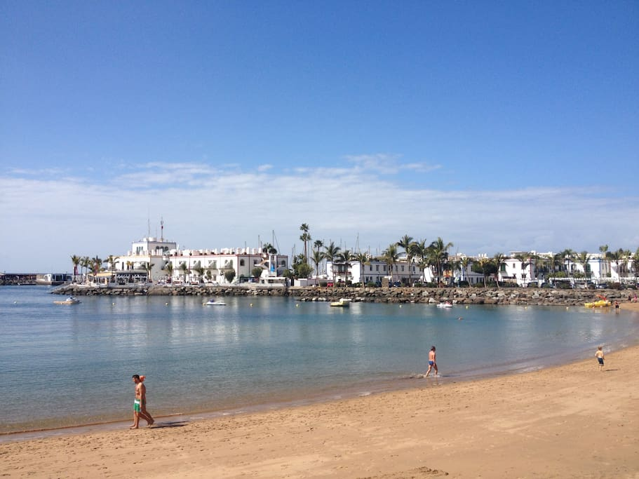 Strand Puerto de Mogan.