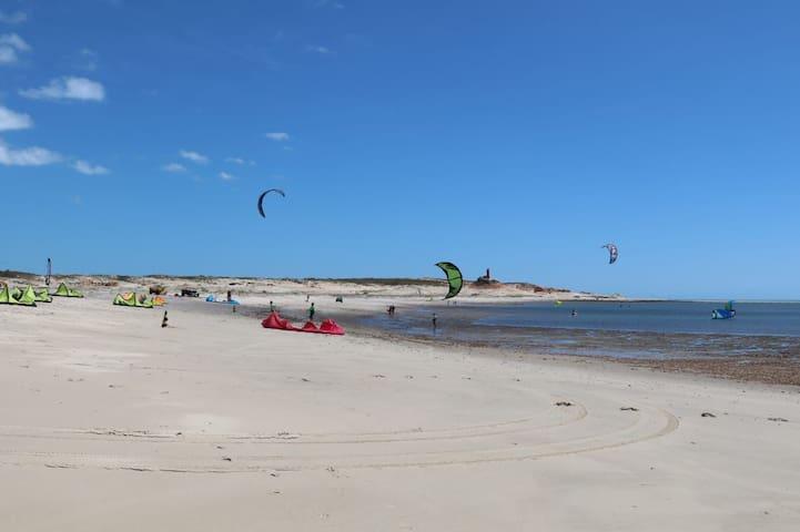 jaguaribe river, kitesurf