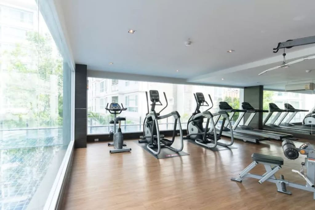 Gym at 3 floor of building B