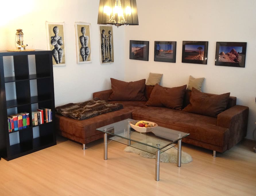 Enjoy your stay in my central apartment and have fun discovering the city!