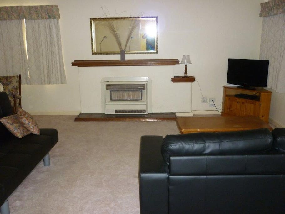 Lounge with Gas Heating & TV & DVD
