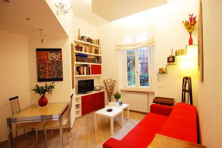 Splendido Appartamento Centrale - Roma - Daire
