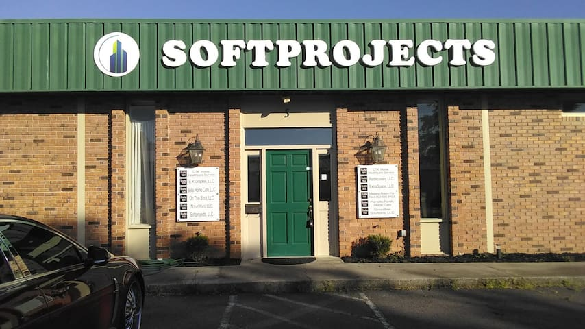 The Softprojects Building Meeting and Event Room