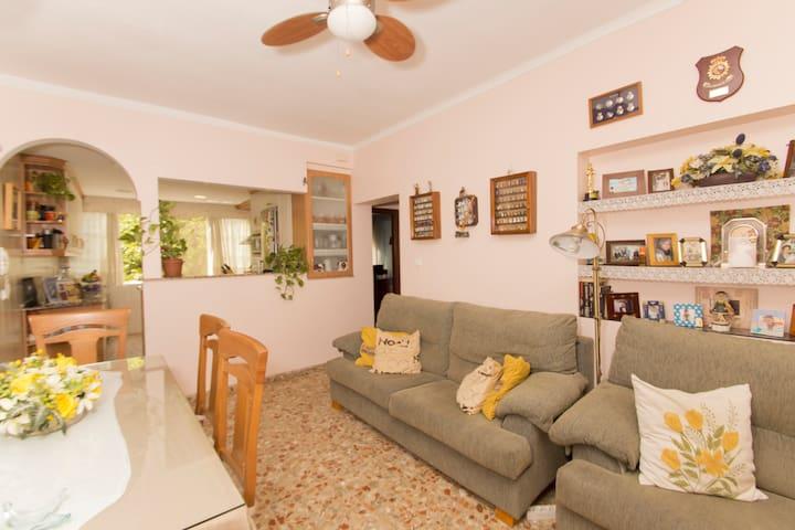 HABITACION CON CAMA DOBLE MUY ACOGEDORA - Cádiz - Huis