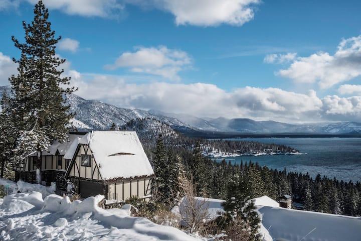 English Tudor - a unique architecture on the Tahoe