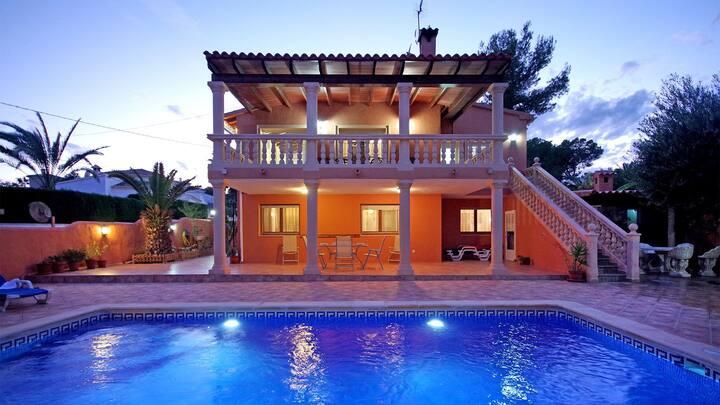 CARRASQUETA - Spacious & gorgeous villa for 10 people in Moraira