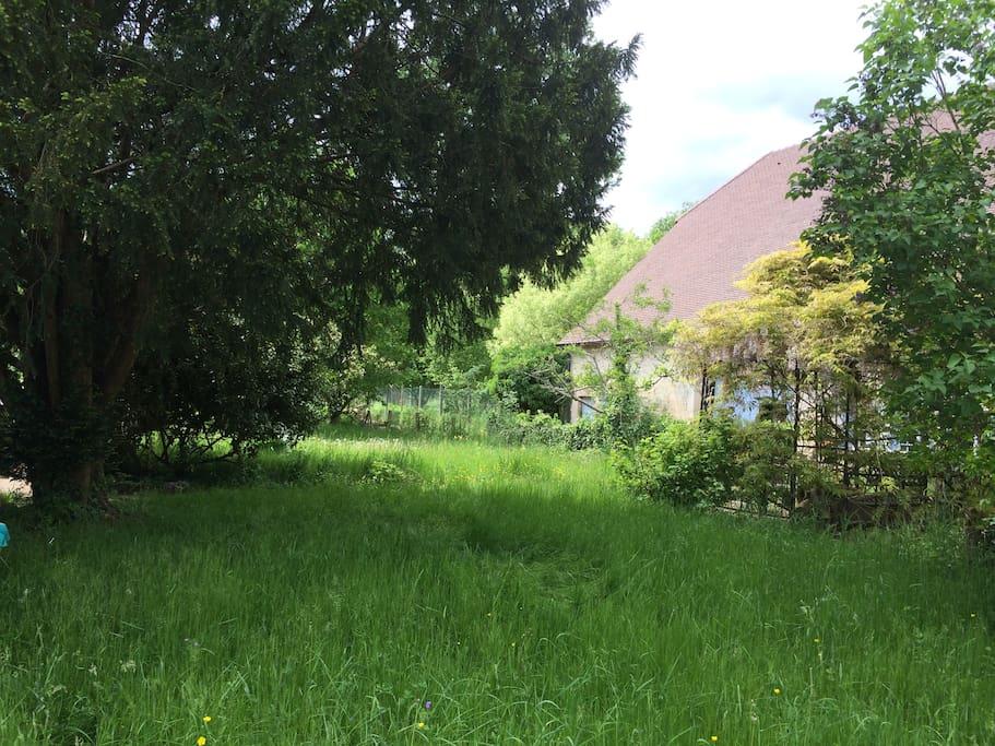 Jardin (vu d'est)