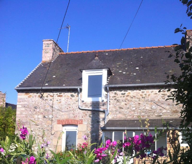 Bretagne maison de p cheur vue port mer maisons louer - Maison de pecheur bretagne ...