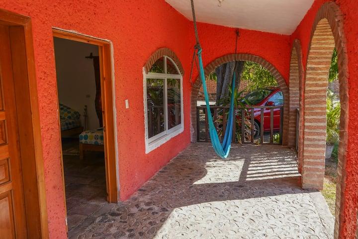 Bungalow en Villa Vacacional frente al Mar