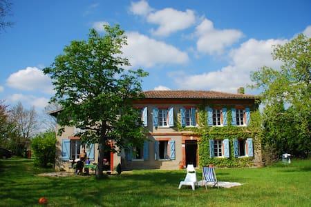 Jolie maison de campagne paisible - Bérat