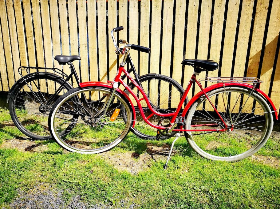 Two bikes for you to use free