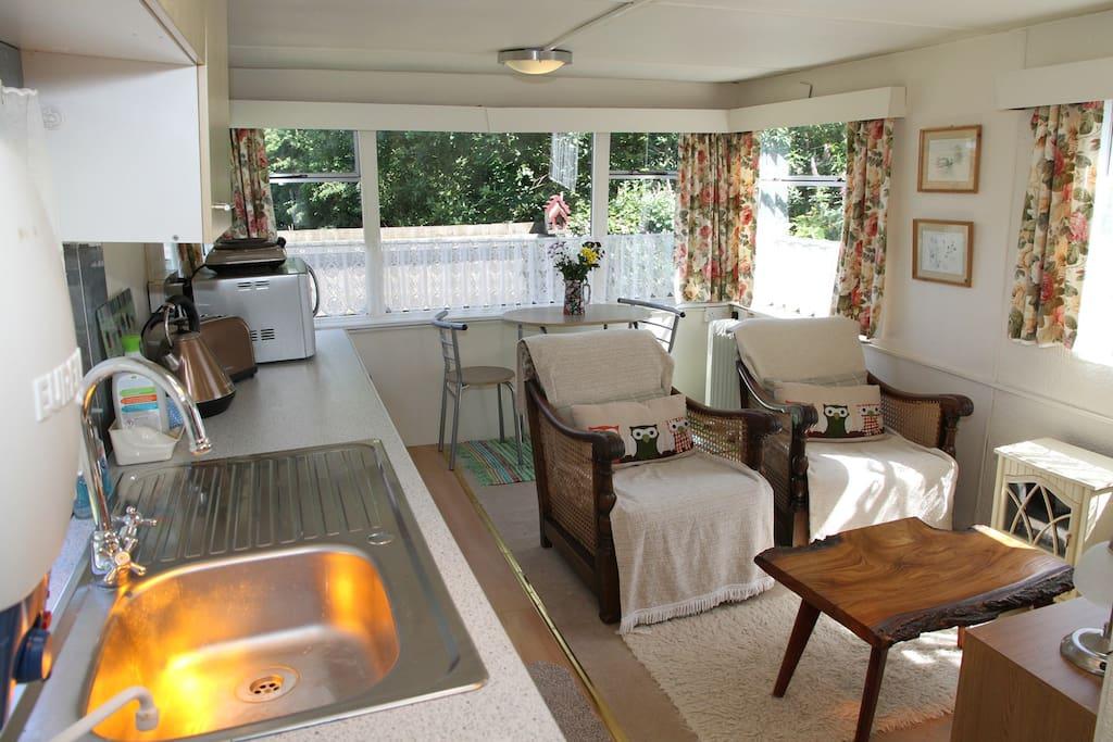 Open plan Kitchen/ Living Area