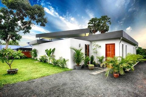 Magnifique maison de jardin moderne