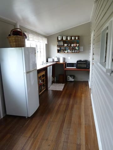 Modern, self-contained kitchenette