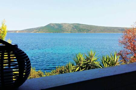 Big Guesthouse with private beach - Sporades - Huoneisto