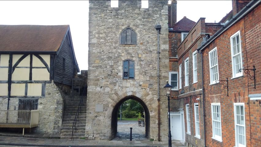 Southampton's historic walls which are an interesting walk for those who like their history!
