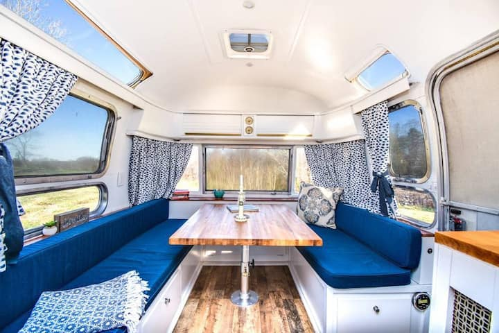 """Gypsy"" the 1976 Airstream"