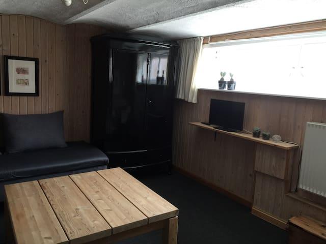 Stort lyst værelse m egen indgang - Esbjerg - Ev