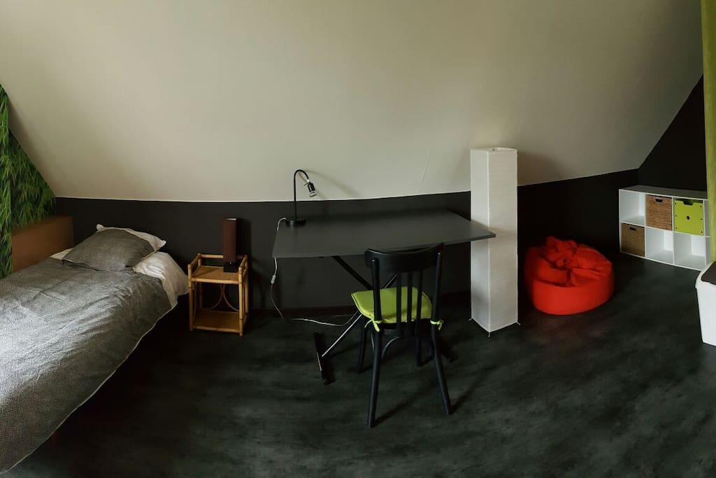 chambre spacieuse et calme pr s de lille houses for rent in wattignies nord pas de calais. Black Bedroom Furniture Sets. Home Design Ideas