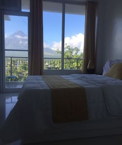 1 Bedroom w/ view of Mt Mayon(203) - Daraga - 公寓