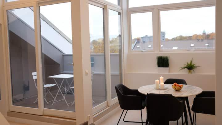 Urban Apartments Grünerløkka Loft / Top floor