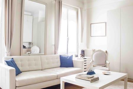 Calm and bright studio at chic paris - Paris-16E-Arrondissement