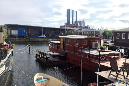 Charming Houseboat, center of city - Copenaghen - Barca
