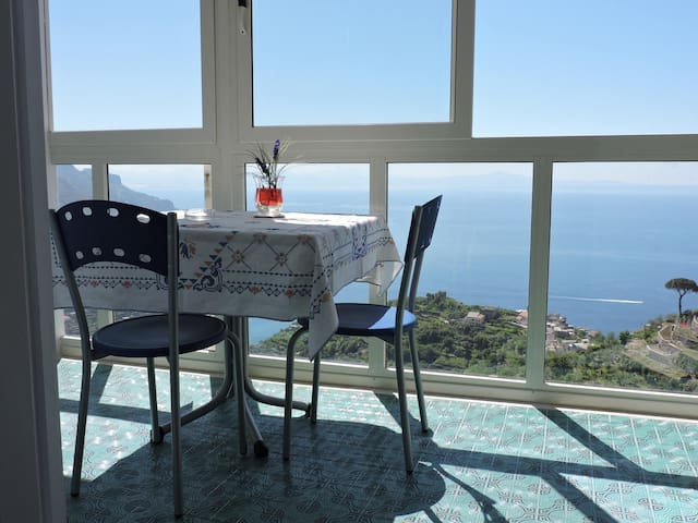 unbelievable new house sea view - Ravello