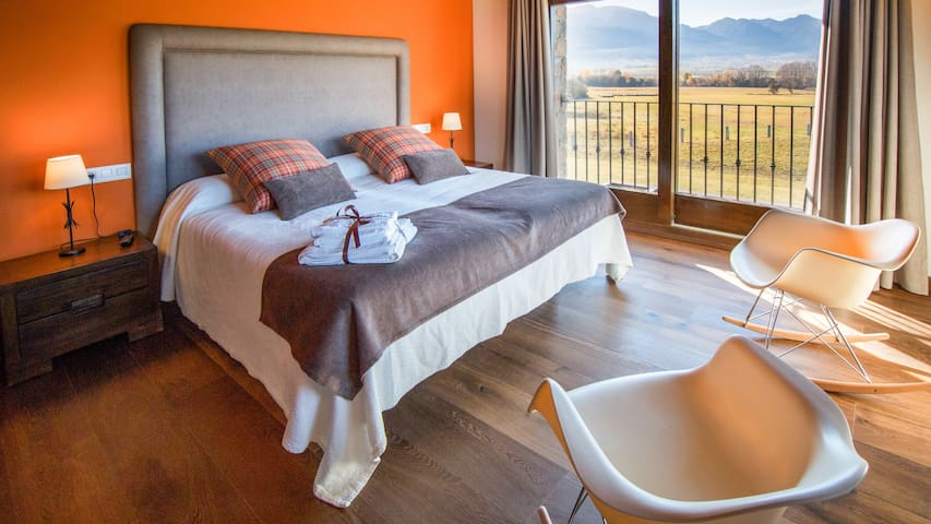 6 Habitacions dobles VIP a La Cerdanya-Bolvir - Bolvir - Bed & Breakfast