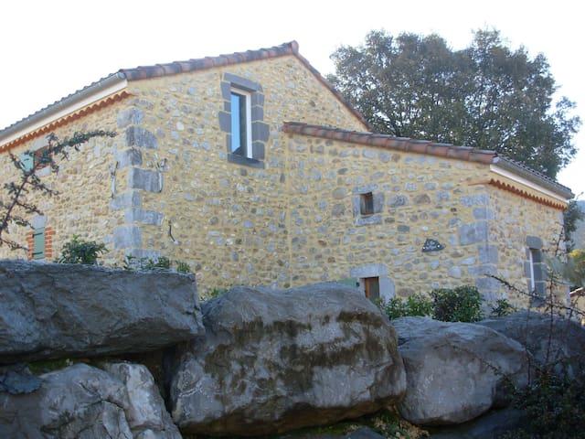 Mas de caractère 8-10 personnes - Vallon-Pont-d'Arc - House