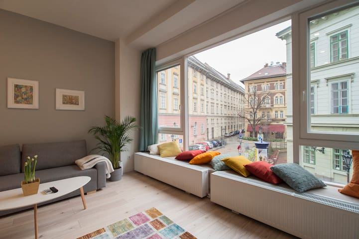 Scandinavian Style Apartment in Heart of Budapest