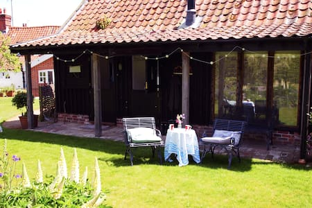 Private studio in a quiet garden - Great Glemham - Andere