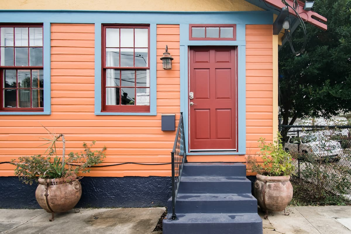 Orange House in the Bywater